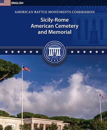 Sicily-Rome American Cemetery booklet