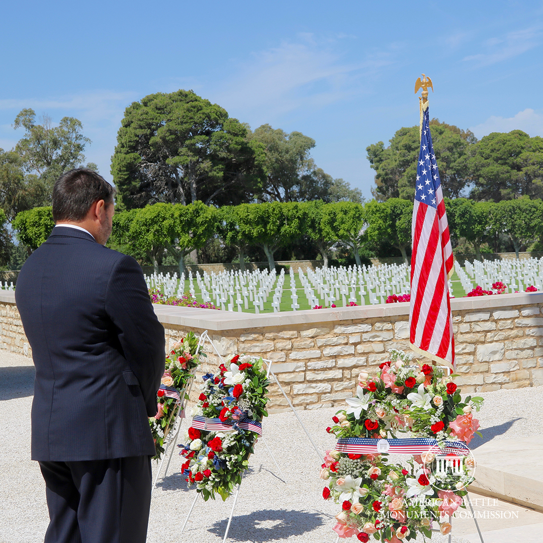 Memorial Day 2020 at North Africa American Cemetery