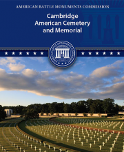 Cambridge American Cemetery booklet thumbnail