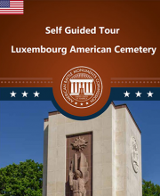 Luxembourg American Cemetery self-guided tour guide leaflet