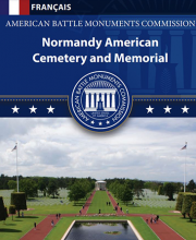 Normandy American Cemetery -French brochure