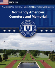 Normandy American Cemetery -English brochure